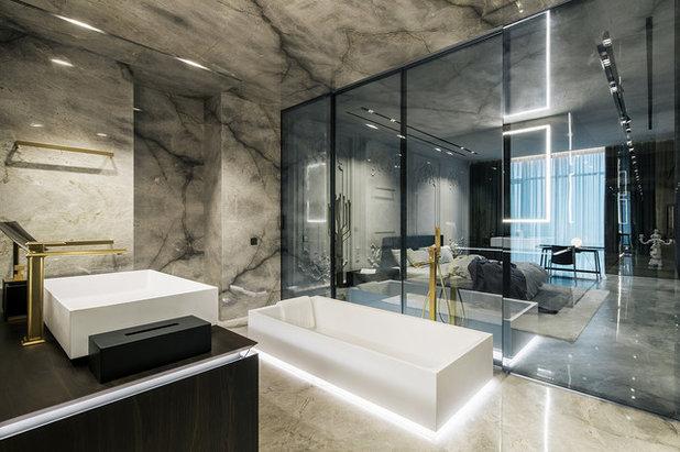 Sala Da Bagno Lusso : Idee per arredare un bagno grande e renderlo di lusso