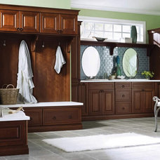 Traditional Bathroom by Kitchen and Bath Cabinets by Stonemasters