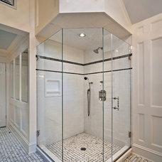 Traditional Bathroom by Diana Bier Interiors, LLC