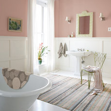 Traditional Bathroom by Sherwin-Williams