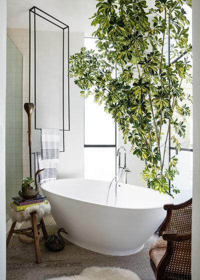 Фьюжн Ванная комната by Dyphor New York