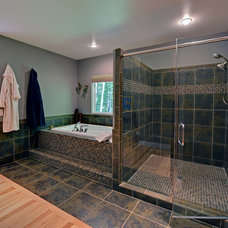 Contemporary Bathroom by Envision Web