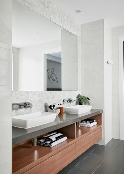 Contemporary Bathroom by Metricon