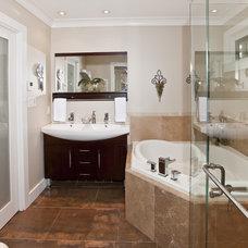 Contemporary Bathroom by LOTOS Construction