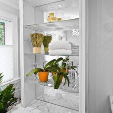Traditional Bathroom by David Nosella Interior Design