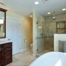 Traditional Bathroom by Divine Design+Build