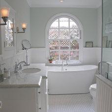 Traditional Bathroom by Clark-Rae Design