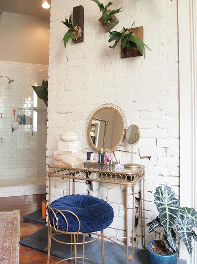 Tropical Bathroom by Kayla Stark