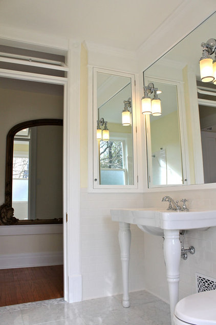 traditional bathroom by Restoring our 1890 Victorian