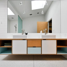 Modern Bathroom by Kerf Design