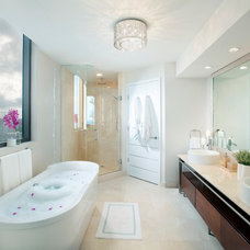 Contemporary Bathroom by DKOR Interiors Inc.- Interior Designers Miami, FL