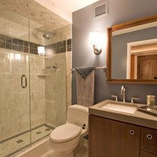 Contemporary Bathroom by DM Designs