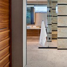 Contemporary Bathroom by David Michael Miller Associates