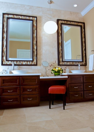 Perfect Contemporary Bathroom by Kerrie L Kelly
