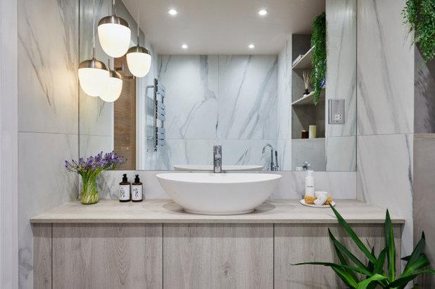 Contemporary Bathroom by Space Shack