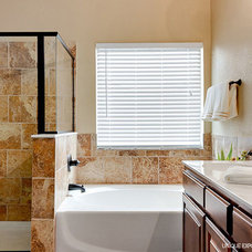 Transitional Bathroom by Hampton Redesign