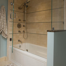 Eclectic Bathroom by Designing Solutions