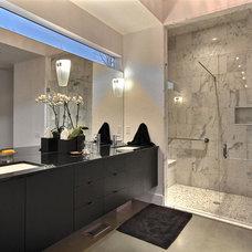 Contemporary Bathroom by Timberlake Custom Homes, LLC