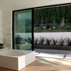 Modern Bathroom by Foundation Landscape Design