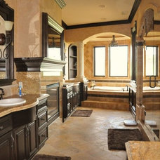 traditional bathroom by Norm Tessier Cabinets, Inc.