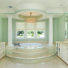 Contemporary Bathroom by Donahue Paye Interior Design