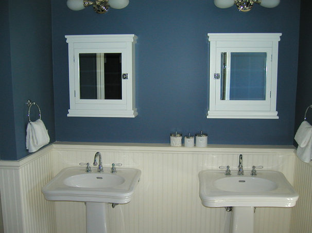 Traditional Bathroom by Donahue Paye Interior Design