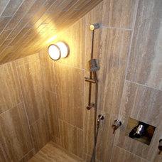 Contemporary Bathroom by Donna DuFresne Interior Design