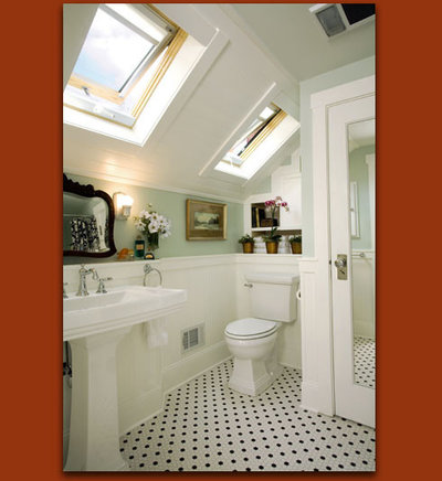 Eclectic Bathroom by Donna DuFresne Interior Design