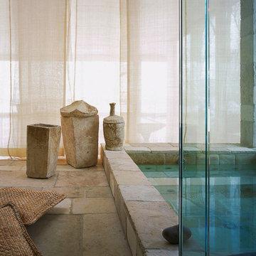 Donna Karan's Zen Spa Bath in East Hampton New York
