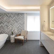 Contemporary Bathroom by Design Platform