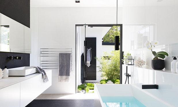 Modern Bathroom by Sarah Waller Design