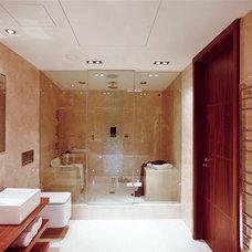 Mediterranean Bathroom by ABL Doors