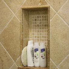 Mediterranean Bathroom by Stone Source