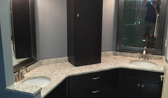 Double bath remodel and new firplace facelift