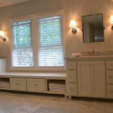 Traditional Bathroom by LAKE COUNTRY CABINETS & TRIM LLC