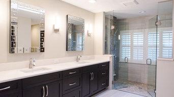 Double Door Glass Shower Enclosure