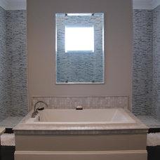 Transitional Bathroom by Fowler Custom Homes, Inc.