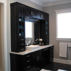 Traditional Bathroom by Fowler Custom Homes, Inc.