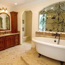 Mediterranean Bathroom by Brandi Smith