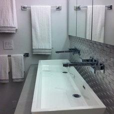 Contemporary Bathroom by Kitchen & Bath Design / Build