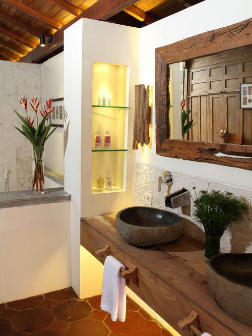Foton och badrumsinspiration för exotiska badrum : badrum exotisk : Badrum