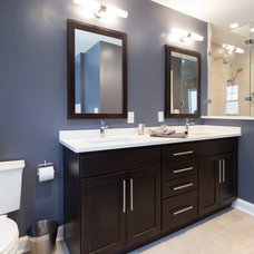Contemporary Bathroom by KraftMaster Renovations