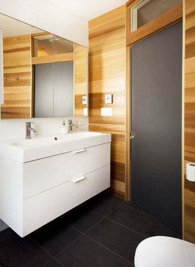 Modern Bathroom by Affecting Spaces