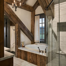 Traditional Bathroom by Allen-Guerra Architecture