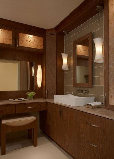 Amazing Contemporary Bathroom by Xstyles Bath More Inc