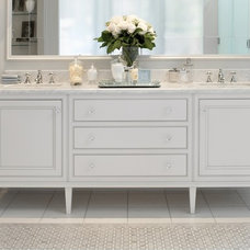 Traditional Bathroom by Audacia Design Downsview Kitchens