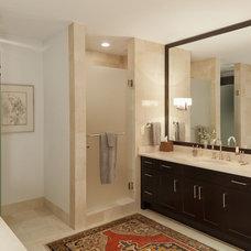 Eclectic Bathroom by Cravotta Interiors