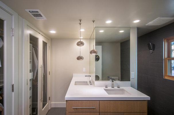 Modern Bathroom by Sherman Home Co.