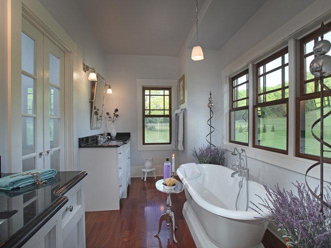 Traditional Bathroom by Modern Rustic Homes
