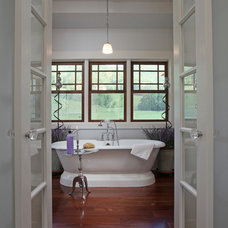 Traditional Bathroom by Modern Rustic Homes